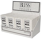 Display-tissues-(24)-God-bless-you-black-wit