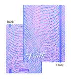 Schrijfdagboek iridescent set van 3_