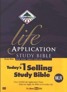 NKJV life aplication bible multicolor hardcover
