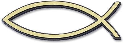 Auto embleem goud 13cm (4)