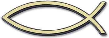 Auto embleem goud 7cm (4)