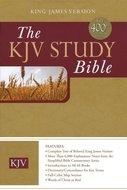 KJV study bible burgundy leather