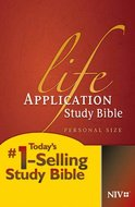 NIV life application bible multicolor hardcover