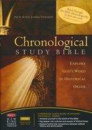 NKJV chronological study bible multicolor hardcover