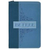 Schrijfdagboek met rits be free