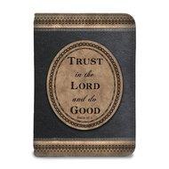 Schrijfdagboek met rits trust in the Lord