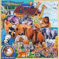 Houten puzzel noach's ark 48 pcs