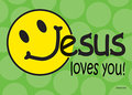 Ansichtkaart-(6)-Jesus-loves-you
